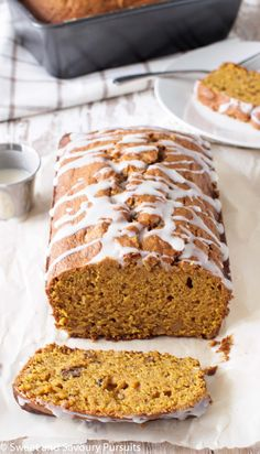 Pumpkin Walnut Loaf | From Sweet and Savoury Pursuits