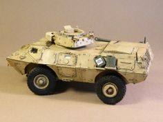M1117 Guardian Armored Security Vehicle 1/35 Scale Model