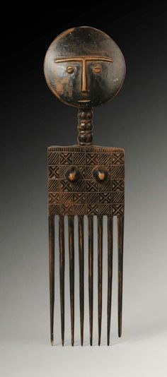Ghana afro comb