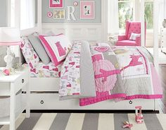 I love the Pottery Barn Kids Cat Bedroom on potterybarnkids.com. That upholstered chair is a must!