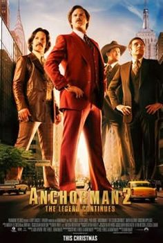 Anchorman 2: The Legend Continues, Release Date: December 20, 2013