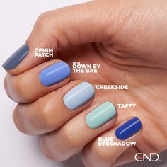 Available for limited time in CND Shellac and CND Vinylux. Cnd Shellac Nails Summer, Shellac Nail Colors, Sinful Colors Nail Polish, Shellac Manicure, Cnd Colours, Gel Polish, Essie Gel, Summer Nails, Shellac Nail Designs