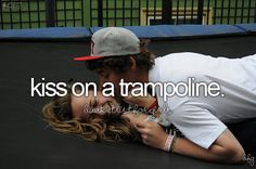 With MY future husband, yeah would be cute and fun. haha:):)