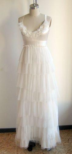 Vintage style wedding dress....