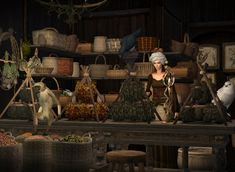 The Medieval Smithy SIMS 2: Decoration