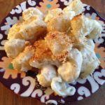Cauliflower mac&cheese
