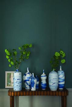 Farrow & Ball Inchyra Blue www.meinewand.de #wandfarbe #streichen