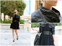 Beauty Editor Elizabeth gives a lesson on how to wear black on black.