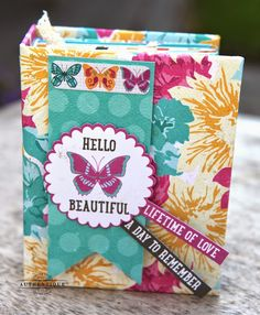 "Authentique Paper: Authentic Life Cards Inspiration Week- A ""Radiant"" Mini Album"
