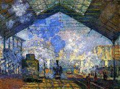 Monet - La Gare Saint Lazare