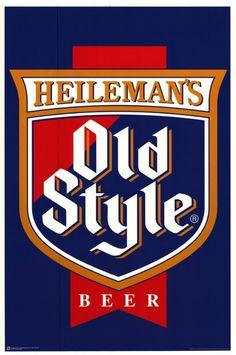 Cerveja Heileman's Old Style, estilo Standard American Lager, produzida por Pabst Brewing Company, Estados Unidos. 4.72% ABV de álcool.