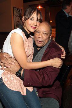 Quincy Jones & his daughter Rashida Jones Black Fathers, Fathers Love, Black Celebrities, Celebs, Daddy Daughter, Daughters, Quincy Jones, All In The Family, Daddys Little Girls