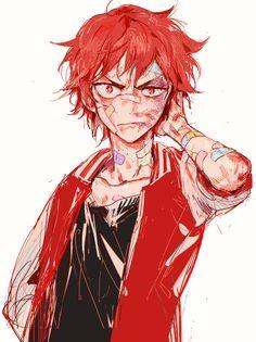 Beat up anime boy Art Manga, Manga Boy, Manga Anime, Anime Art, Pretty Art, Cute Art, Aesthetic Art, Aesthetic Anime, Male Character