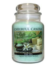 Day Spa Jar Candle