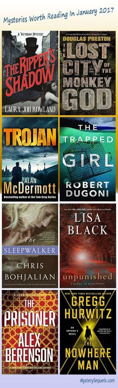 Mystery books well worth picking up in January 2017