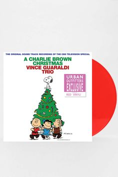 This is so cool! Love this record!! It's a tradition in our home!  Vince Guaraldi - A Charlie Brown Christmas LP