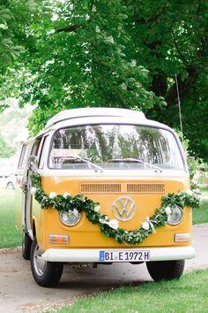 Sommerlicher Hochzeitstraum von Riska Photography