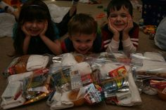 Blessing Bags with Kids