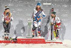 Mikaela Shiffrin, Petra, Austria, Champagne, January, Racing, Baseball Cards, Celebrities, Sports