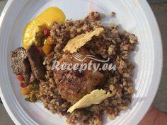 ▷ Hovězí karbanátek s pohankovým rizotem recept - Recepty.eu Beef, Food, Meat, Essen, Meals, Yemek, Eten, Steak