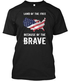 Land of the Free 1 Usa Shirt, Land Of The Free, Champs, World War, Sweatshirts, Brave, Mens Tops, Trainers, Sweatshirt