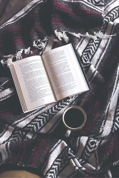 Book & Coffee, best combination on weekend, or a rainy afternoon.