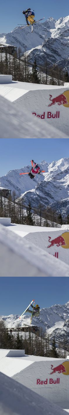 Wings for the winter! #redbull #freeskiing