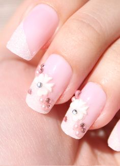Cutsey Bow 3D Stick On Nails