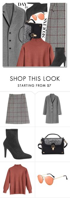 """""""Sequins"""" by paculi ❤ liked on Polyvore featuring Carven and Gap"""