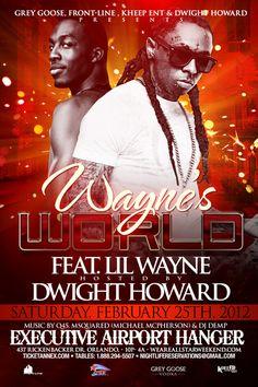 NBA All-Star Weekend 2012: Lil' Wayne & Dwight Howard @ Showalter Executive Airport | Saturday 2/25