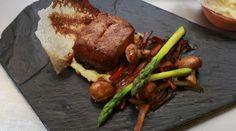 Receta en video: Lomo de cerdo en sabores asiáticos con vegetales. Trucos para cocinar a inducción.
