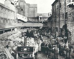 Vaux Brewery Sunderland 1917 North Shields, Victorian Buildings, North East England, Sunderland, Historical Pictures, Durham, Newcastle, New Pictures, Brewery