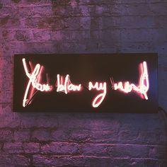 | #LightsofSoho neons