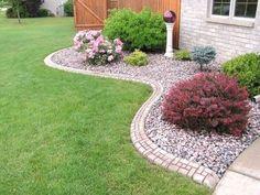 Cool Front Yard Rock Garden Landscaping Ideas 29 #landscapingideas  #LandscapingIdeas