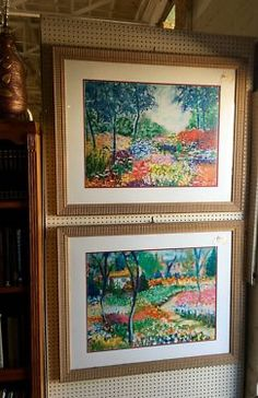 Pretty Framed Artwork   $145 Each   Booth #282  Lula B's  1010 N. Riverfront Blvd. Dallas, TX 75207  Open Daily Mon. -- Sat. 10 to 6 Sun. 12 to 6  Like us on Facebook: https://www.facebo