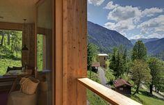 Natur-Hotel Tannerhof - Zimmer in den Hüttentürmen, ein besonderes Hotel.