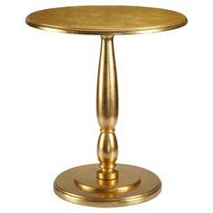 Sophia Side Table in Gold