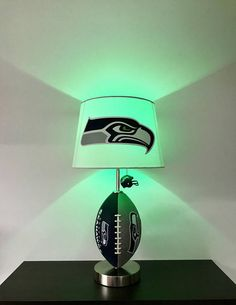 Seattle Seahawks Football Lamp NFL man cave sports lamp