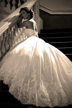 Just like a romantiic fairytale! Nicki Flynn Bridal - True Bride