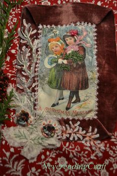 An embroidery a day ... Une broderie par jour (calendrier de l'avent) Jour 19