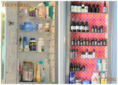 Medicine Cabinet makeover -- organized with essential oils and resolved to do natural healing! Kristaeb #1597516