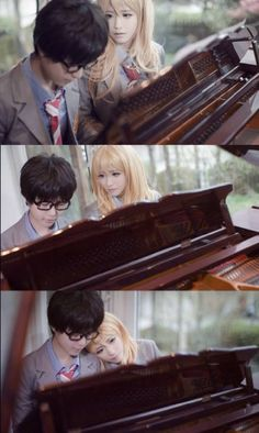 cosplay o.o  #Your Lie in April