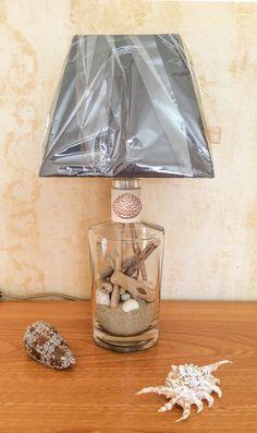 Lampe bouteille par l'Atelier de Corinne : Luminaires par atelier-de-corinne