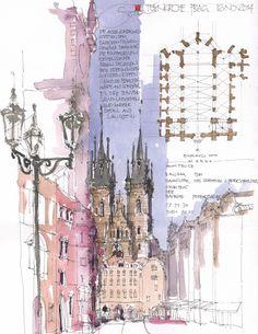 Teynkirche, Prag, CZ by Jochen Schittkowski