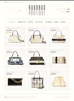 Handbag Boutique ZenCart Templates by Hermes