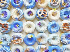 How to Make Ombre Donuts That Are Insanely Instagram-able via Brit + Co