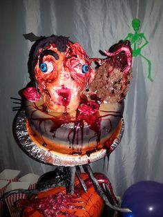 Halloween Cake Top Layer