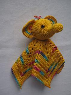 diy Elefanten Schmusetuch selber häkeln #crochet #baby #elefant #greifling #schmusetier