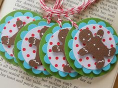 Items similar to Christmas gift tags Gingerbread men on Etsy Christmas Gift Wrapping, Christmas Gift Tags, Christmas Gingerbread, Gingerbread Men, Handmade Gift Tags, Vinyl Crafts, Paper Crafts, Christmas Cards To Make, Christmas Projects