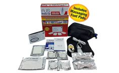 Tens machine unit massager with EMS muscle nerve stimulator by aus physio
